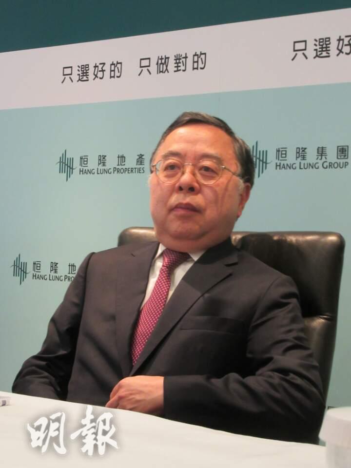 【有片】拒絕轉型  陳啟宗:斥14億為上海兩大商場增值
