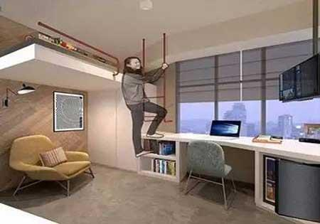 【白鴿籠】深圳64呎劏房被叫停  佔用公共空間實際逾200呎
