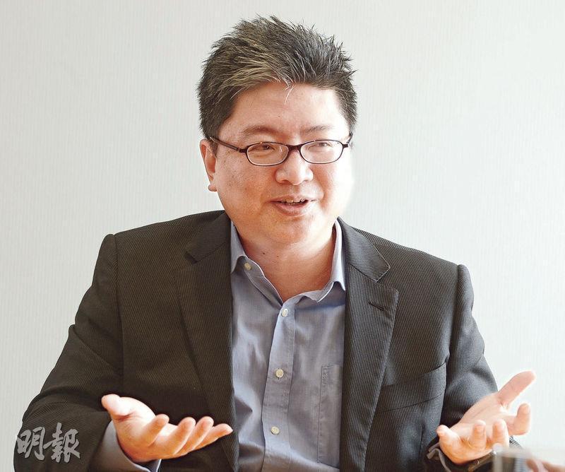 遠東發展董事總經理孔祥達表示,集團看重現金流之餘,亦留意經營項目所在地的重建價值,了解當地規劃變化,為進軍該區域地產市場部署。(劉焌陶攝)
