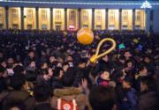 【世界齊歡 煙花喜迎2017】朝鮮平壤(法新社)