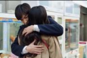 李敏鎬擁抱全智賢,表白心聲。