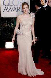 Drew Barrymore in Atelier Versace, 2010.