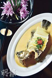 以魚入饌  蘿蔔盡吸魚湯鮮甜