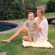 伊萬卡與兒子(Instagram圖片)