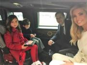 伊萬卡、丈夫庫什納和其中兩名子女(Instagram圖片)