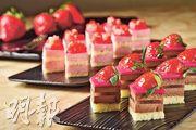 草莓朱古力慕絲  香濃清甜交纏
