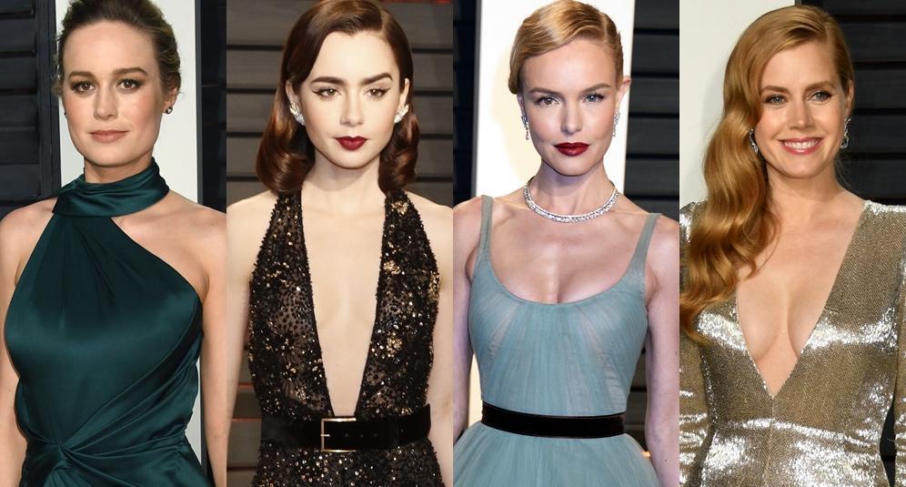 【奧斯卡華麗餘溫】逾 30 頂尖女星 Vanity Fair Oscar Party 晒冷