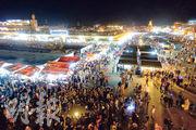 摩洛哥紅城 遊世遺大笪地 看舞蛇 聽說書 買皮革