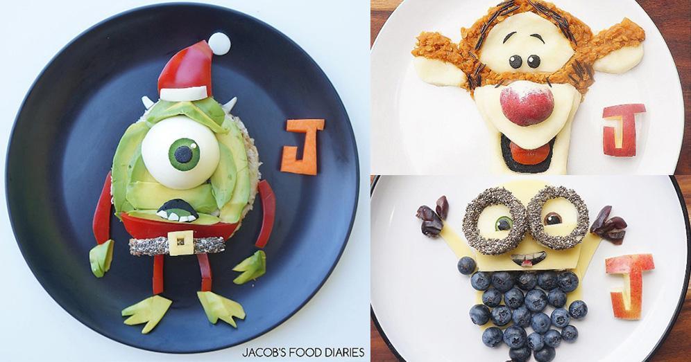 【食物的藝術】牛油果變「大眼仔」