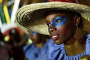 美洲國家海地(Haiti)舉行的嘉年華(法新社)