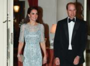 【英王室訪問法國】Kate Middleton 穿《冰雪奇緣》Elsa 公主裙?