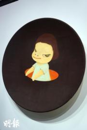 奈良美智《另一個女孩另一個世界》,2001年作(文子洋攝)