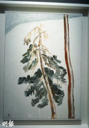 金宗學《Snowscape》,2001年作(文子洋攝)