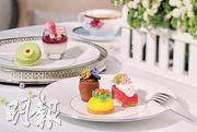 飲食QuickNote:歎花香下午茶優雅當彩繪畫model