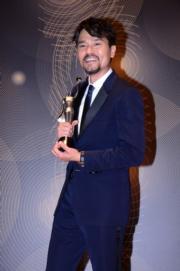 林家棟憑電影《樹大招風》首奪金像獎影帝。