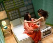 《浮華宴》林家棟跟周秀娜很熟絡,就算拍吻戲也不尷尬。