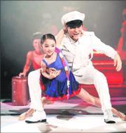 李連杰與利智的大女Jane Li 在7歲時已在紅館舞台跟劉德華表演。