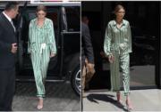 【從睡房到街頭】Gigi Hadid 穿真睡衣上街