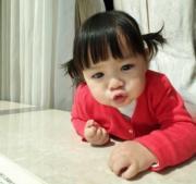 這個孖辮妹太可愛了!