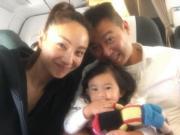 媽咪Yumiko與爹哋Andy帶寶貝女去旅行。