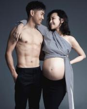 楊愛瑾與老公郭永淳。
