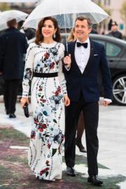 丹麥王儲弗雷德里克 (Crown Prince Frederik)與儲妃瑪麗( Crown Princess Mary)(法新社)