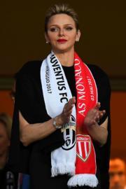 摩納哥王妃維特斯托克(Charlene, Princess of Monaco)(法新社)