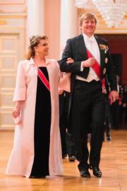 荷蘭國王威廉阿歷山大(King Willem-Alexander,右)(法新社)