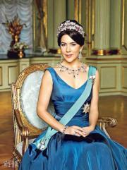 丹麥王妃瑪麗‧唐納森(資料圖片)