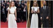 穿著Chanel現身的尊尼狄普女兒莉莉露絲,通曉英文法語,在開幕禮上,她跟《伊朗式遷居》導演法哈迪(右圖)踏上舞台。