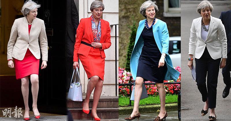 英國首相文翠珊 腳下時尚騷