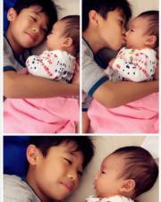 哥哥與妹妹。