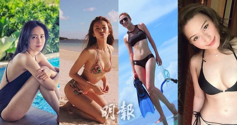【圖輯】泳裝胸群出擊 索爆人妻大戰女神