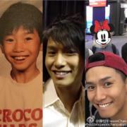 陳柏宇由童年到現在都是一個快樂人。(網上圖片)
