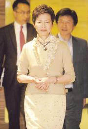 林鄭月娥(2012年資料圖片)