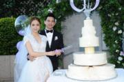 齊齊切結婚蛋糕