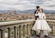 歐洲拍攝的Pre-Wedding照片,靚人靚景。