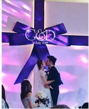 婚禮感動的一刻。