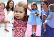 【Best Dressed of The Week】 Kate Middleton 與小公主 Charlotte「時尚外交」母女裝