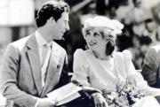 查理斯(左)與戴安娜(右)(1983年資料圖片)