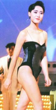 1989年港姐冠軍陳法蓉。(資料圖片)