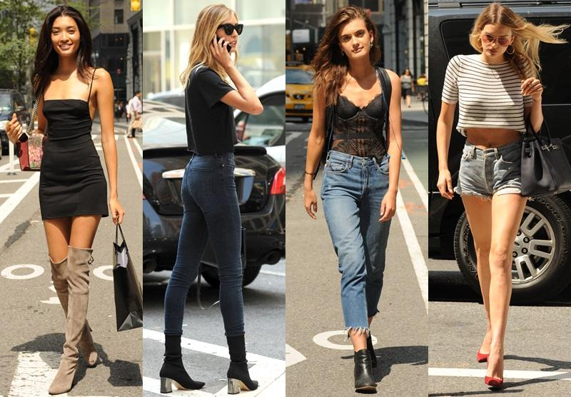【Victoria's Secret 甄選天使】名模街頭率先展露「fit 爆」身段與美腿
