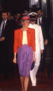 1989年,戴安娜(資料圖片)