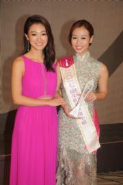 姊妹檔張寶兒(左)與張寶欣先後踏上港姐的舞台,雖然未能晉身三甲,但她們肯定是人緣最好的選美姊妹花。