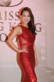 心穎BB的火辣紅裙好搶鏡。