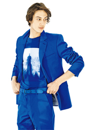 T恤呈現藍曬藝術