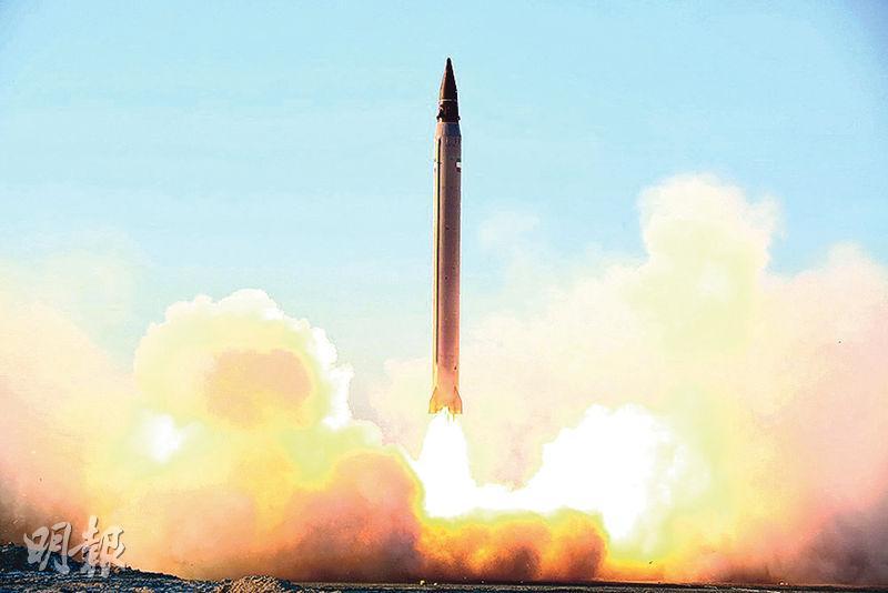 伊朗射長程導彈 被指違反核協議