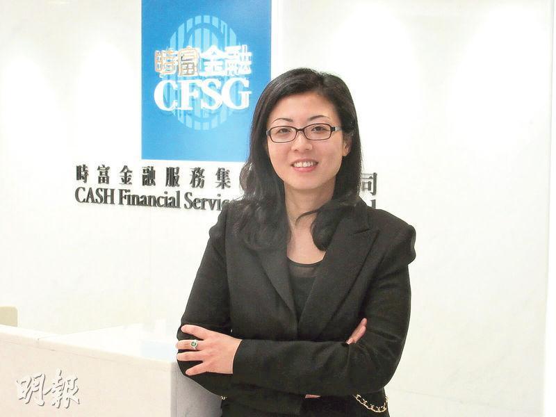 時富金融執行董事兼行政總裁鄭蓓麗表示,自2009年已著手發展金融科技,現階段向已登記客戶免費發出簡化的買賣訊號。