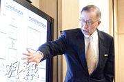 上市公司商會副主席羅嘉瑞昨日會見傳媒,直指證監會及港交所就上市審批權的新建議缺乏今時今日行之有效的雙重架構的制衡機制,並擔心一旦執行,會令香港的金融市場從過往壯大變成萎縮。(郭慶輝攝)