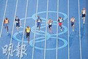 今次里約奧運開幕禮,facebook有1.09億次的廣告點擊量,意味fb影響力大為提升,亦顯示觀眾習慣已由電視轉變至手機網絡平台。圖為奧運早前舉行的田徑賽事。(法新社)